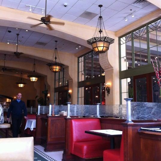 Photo taken at Village California Bistro & Wine Bar by Christine on 4/3/2012