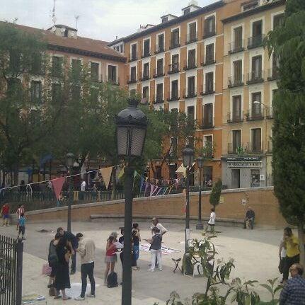 Photo taken at Plaza del Dos de Mayo by Bárbara A. on 5/12/2012