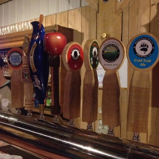 Photo taken at Mountain State Brewing Co. by James A. on 2/25/2012