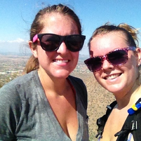 Photo taken at Sunrise Peak by Jacque on 8/18/2012
