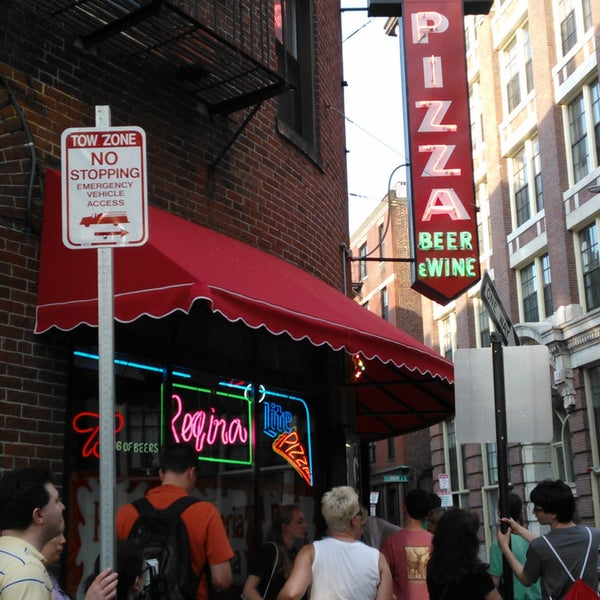 Photo taken at Regina Pizzeria by Caroline S. on 5/26/2012