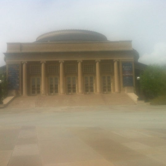 Photo taken at Bailey Hall by Thomas H. on 5/4/2012
