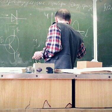 Photo taken at Школа №1249 by Sasha Z. on 4/25/2012