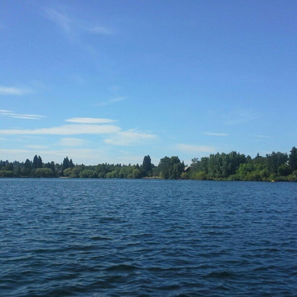 Photo taken at Green Lake Boathouse by Scott S. on 8/2/2012