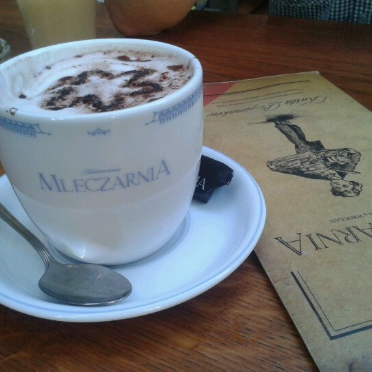 Photo taken at Mleczarnia by Krzys J. on 8/8/2012
