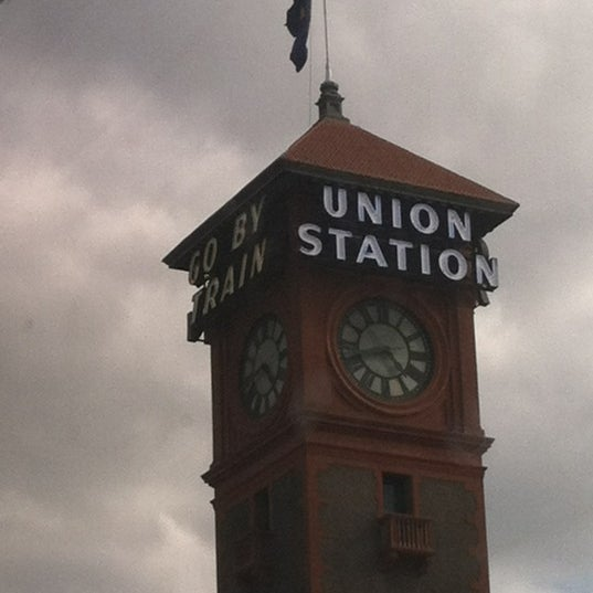 Photo taken at Union Station Amtrak (PDX) by Dennis L. on 8/23/2012