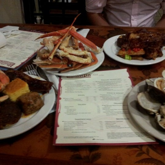 Photo taken at Phillips Seafood by Scott S. on 7/18/2012