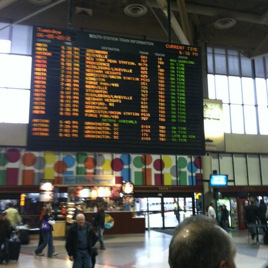 Photo taken at MBTA South Station by Paul B. on 6/5/2012