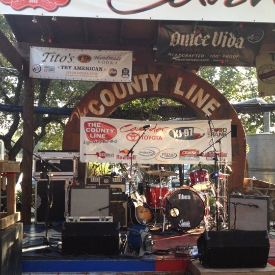 Photo taken at The County Line by John Z. on 8/9/2012