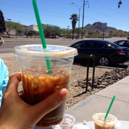 Photo taken at Starbucks by B on 3/23/2012