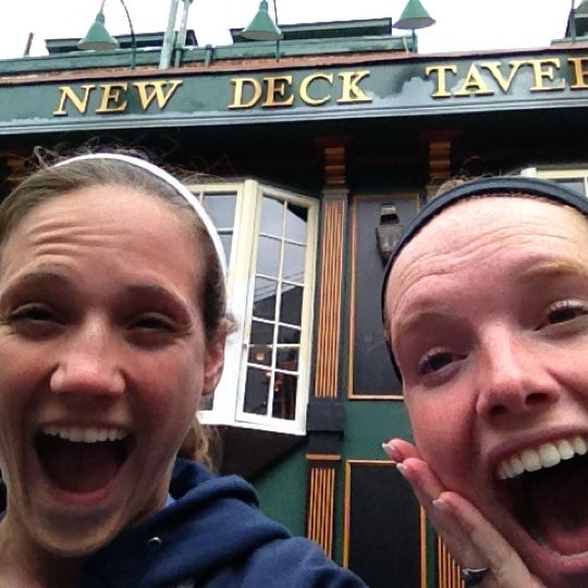 Photo taken at New Deck Tavern by Caroline C. on 4/26/2012