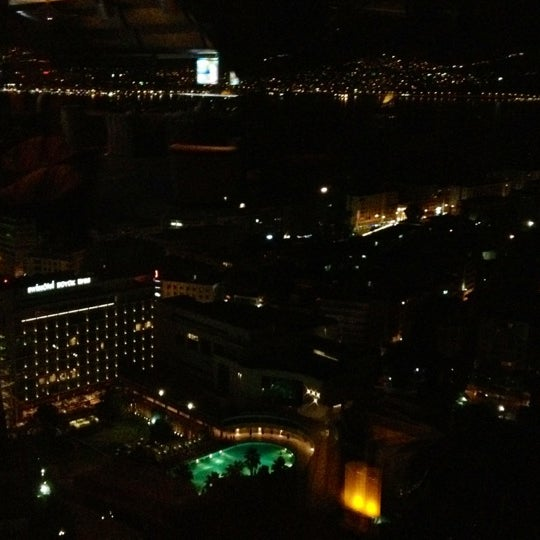 Photo taken at Hilton İzmir by Dry C. on 8/23/2012
