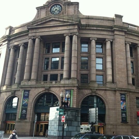 Photo taken at MBTA South Station by David W. on 8/2/2012