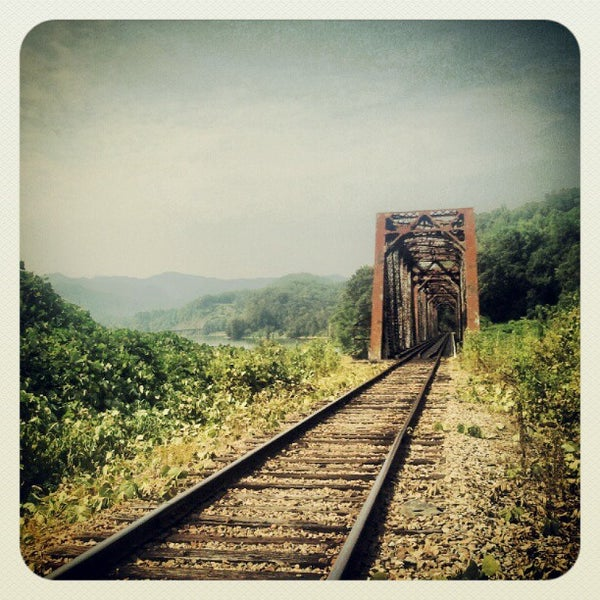 Photo taken at Great Smoky Mountain Railroad by Emily V. on 7/3/2012