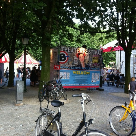 Photo taken at Festivalplein Theaterfestival Boulevard by Willeke on 8/5/2012