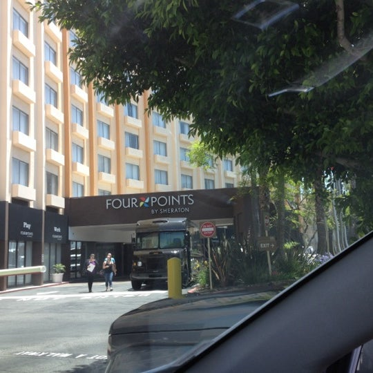 Photo taken at Four Points by Sheraton Los Angeles International Airport by Harrison S. on 5/29/2012