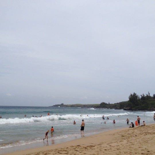 Photo taken at D.T. Fleming Beach Park by Sarah C. on 4/5/2012
