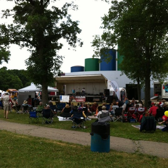 Photo taken at Warner Park by Madison Area City Guide on 6/23/2012