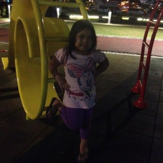 Photo taken at Bonifacio High Playground by Arlene S. on 5/28/2012