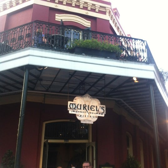 Photo taken at Muriel's Jackson Square by Bryce B. on 4/13/2012