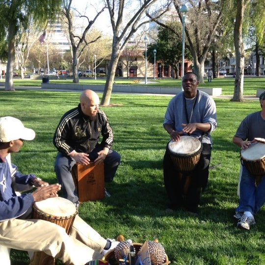 Photo taken at Todos Santos Plaza by Nadine M. on 4/2/2012