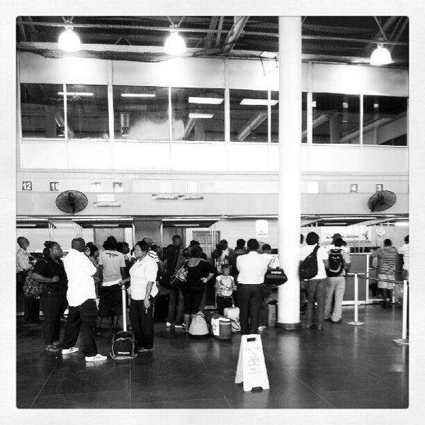 Photo taken at A.N.R. Robinson International Airport (TAB) by Marlon C. on 7/31/2012
