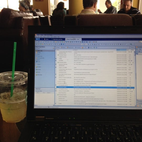 Photo taken at Starbucks by Miguel M. on 9/7/2012