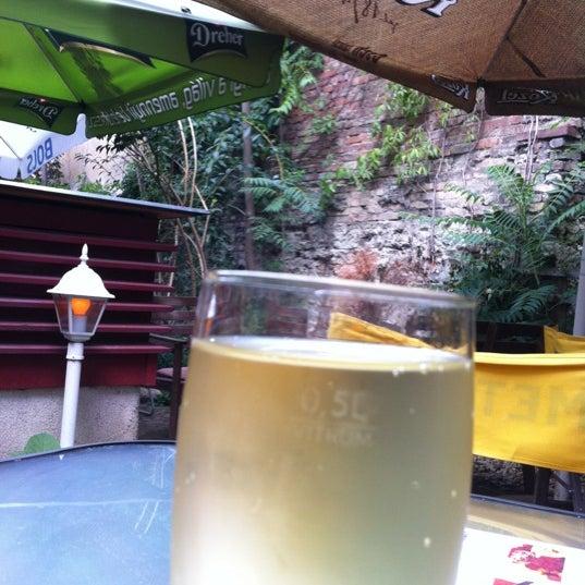 Photo taken at Bobek Cafe by János D. on 8/17/2012