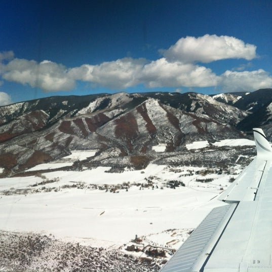 Photo taken at Aspen - Pitkin County Airport (ASE) by Juan Pablo on 2/16/2012