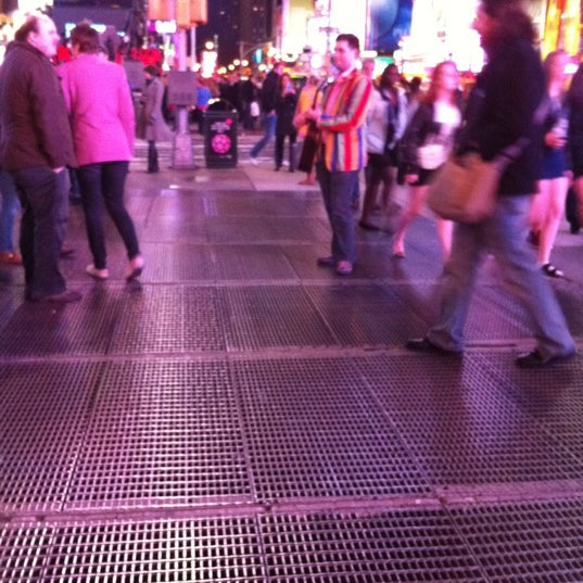 "Photo taken at Max Neuhaus ""Times Square"" by Kevin R. on 3/10/2012"