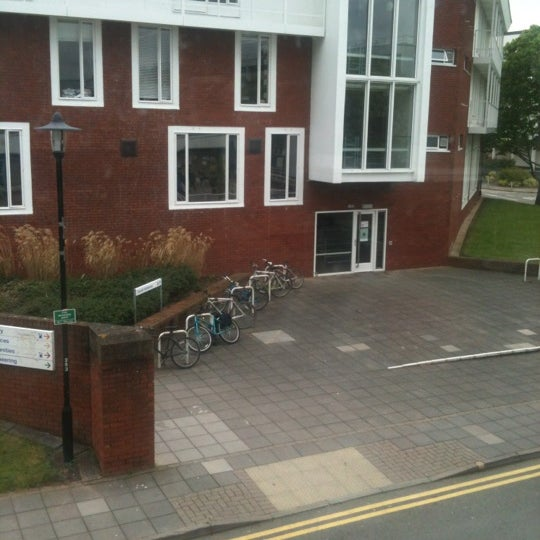 Photo taken at University of Warwick Library by Mohsen A. on 5/4/2012