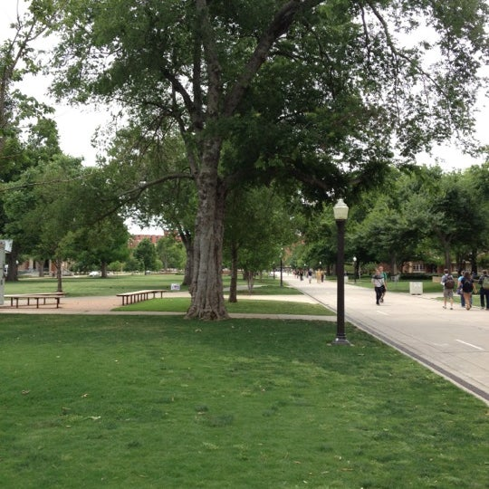 Photo taken at South Oval by Austin E. on 5/8/2012