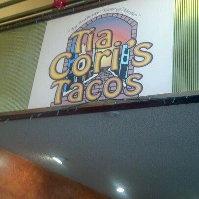 Photo taken at Tia Cori's Tacos by Deborah S. on 6/27/2012