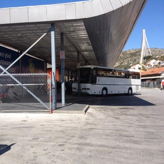 Photo taken at Autobusni Kolodvor Dubrovnik   Dubrovnik Bus Station by Slaven O. on 4/2/2012