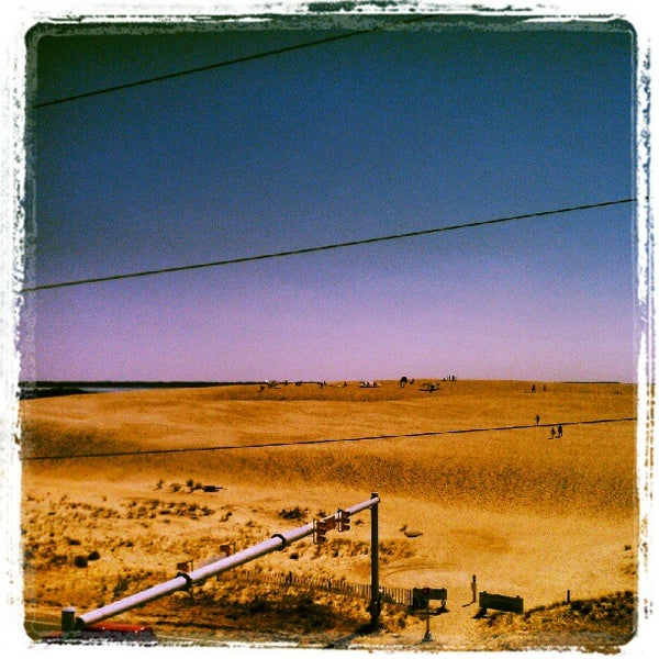 Photo taken at Jockey's Ridge State Park by James Davalos on 6/27/2012