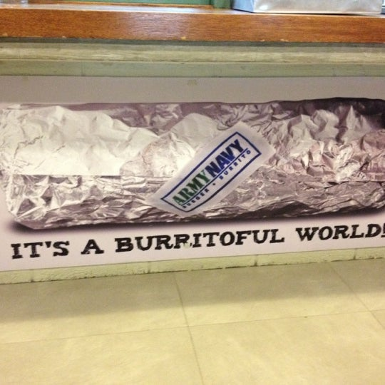Photo taken at Army Navy Burger + Burrito by Gem S. on 3/23/2012