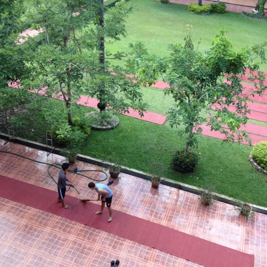 Photo taken at มหาวิทยาลัยราชภัฏเชียงใหม่ (Chiang Mai Rajabhat University) by Champoll T. on 6/9/2012