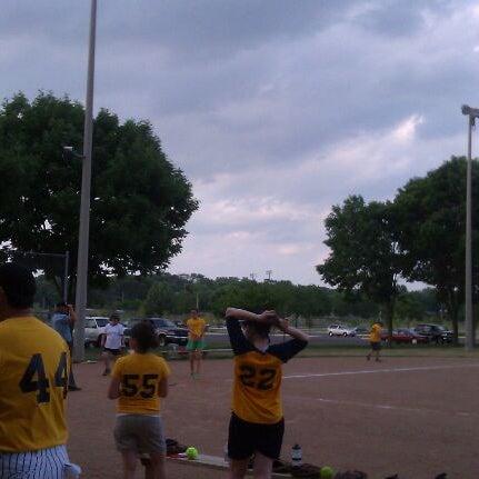 Photo taken at Warner Park by K. D. on 6/18/2012