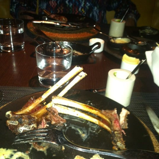 Photo taken at Jean Georges Steakhouse by ChIqUiTa <3 on 7/4/2012