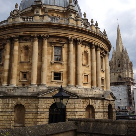 Photo taken at Radcliffe Camera by Daniel S. on 7/8/2012