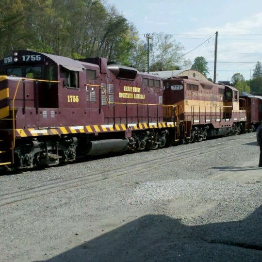 Photo taken at Great Smoky Mountain Railroad by Jason T. on 4/10/2012
