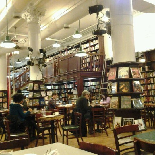 Photo taken at Housing Works Bookstore Cafe by Klaartje V. on 4/2/2012