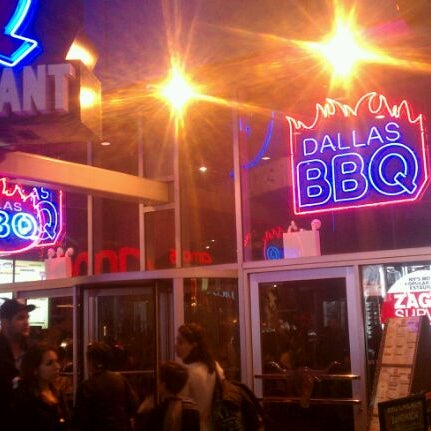 Photo taken at Dallas BBQ by Reggie C. on 3/14/2012