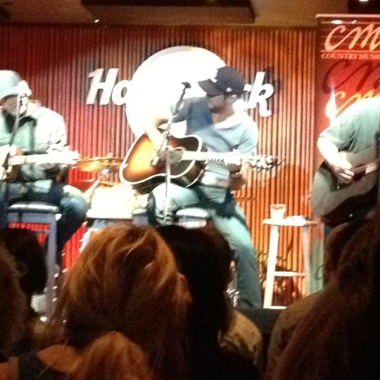 Photo taken at Hard Rock Cafe Nashville by Mark B. on 3/28/2012