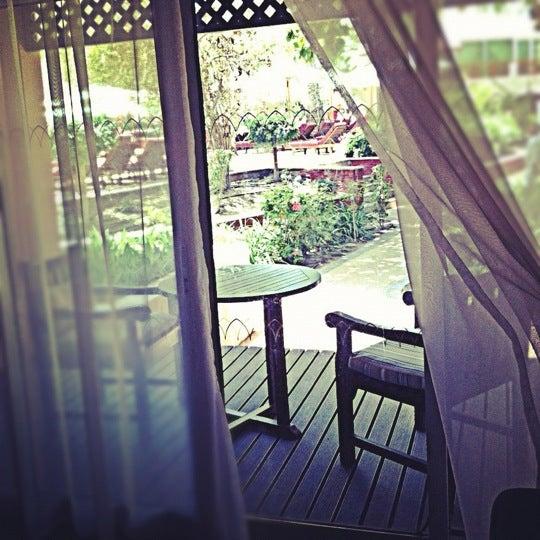 Photo taken at Habtoor Grand Beach Resort & Spa by Arwa A. on 5/21/2012