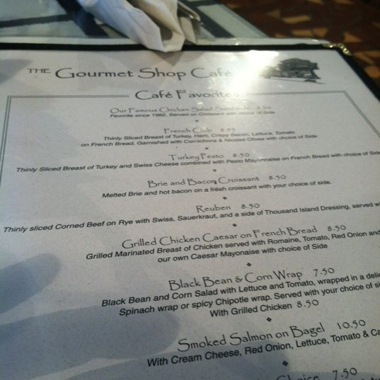 Photo taken at The Gourmet Shop by Lindsey S. on 2/18/2012