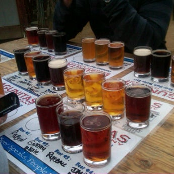 Photo taken at Lagunitas Brewing Company by Marie S. on 2/20/2012