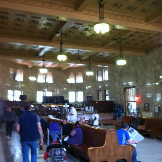 Photo taken at Union Station Amtrak (PDX) by Jay T. on 5/30/2012