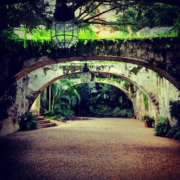Photo taken at Hotel & SPA Hacienda de Cortés by Rodrigo C. on 8/24/2012