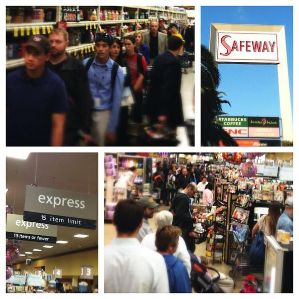 Photo taken at Safeway by Arif H. on 6/19/2012